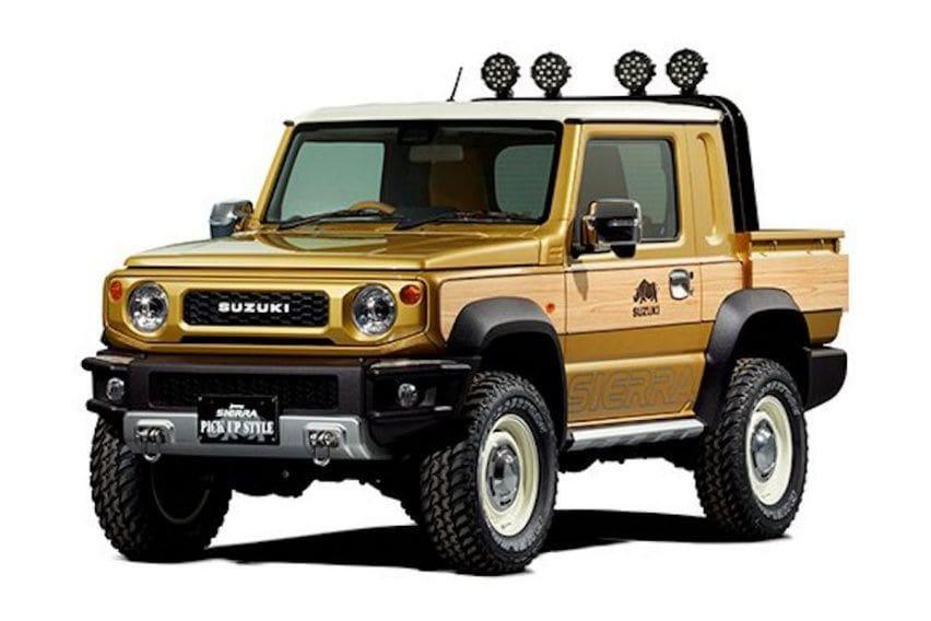 Kerennya Modifikasi Suzuki Jimny Jadi Pikap