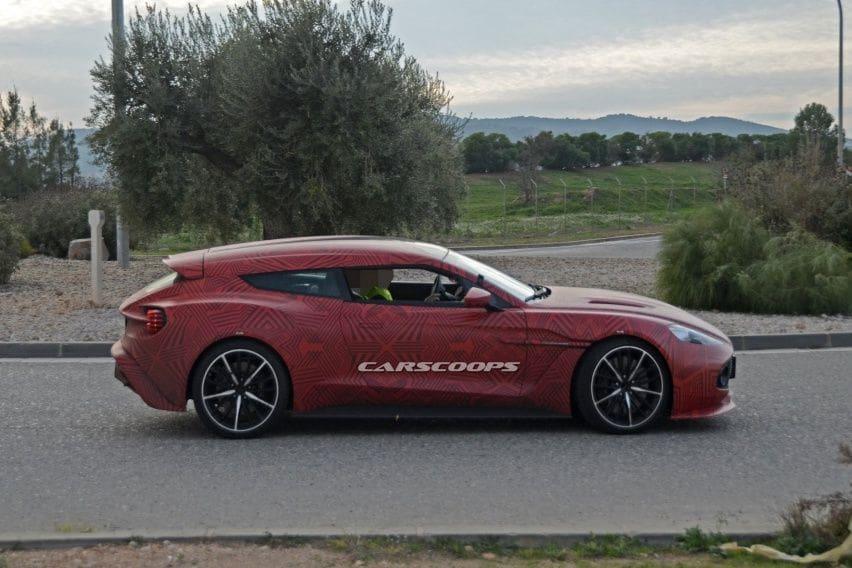 Aston Martin Vanquish Zagato Shooting Brake Siap Jegal Ferrari Gtc4lusso