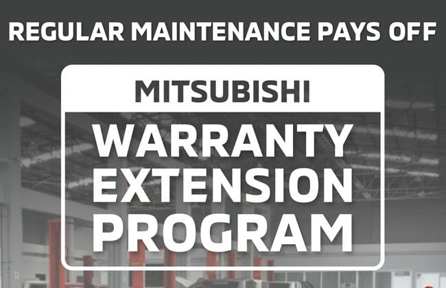 Mitsubishi Philippines offers Warranty Extension Program