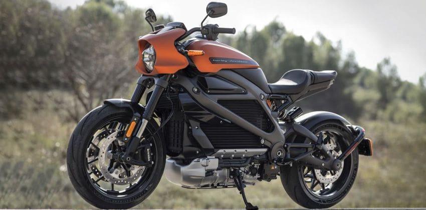 Harley Davidson LiveWire Left Side