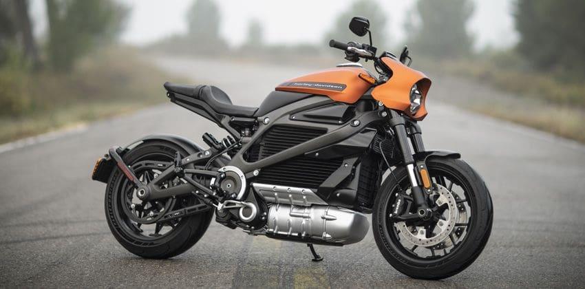 Harley Davidson LiveWire Right Side