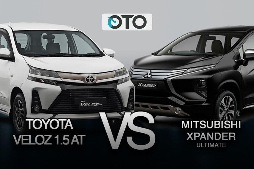 Komparasi Toyota Avanza Veloz 2019 vs Mitsubishi Xpander Ultimate