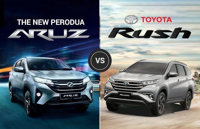 Perodua Aruz vs. Toyota Rush - Solving the dilemma
