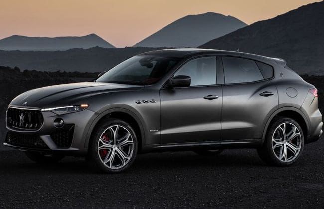 Maserati Levante Vulcano Limited Edition is out
