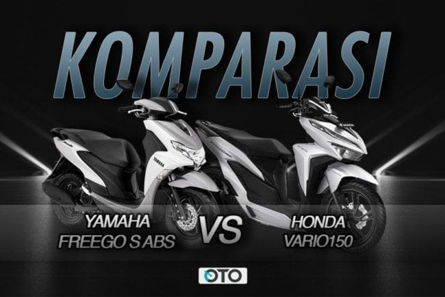 Komparasi Honda Vario 150 vs Yamaha FreeGo S ABS