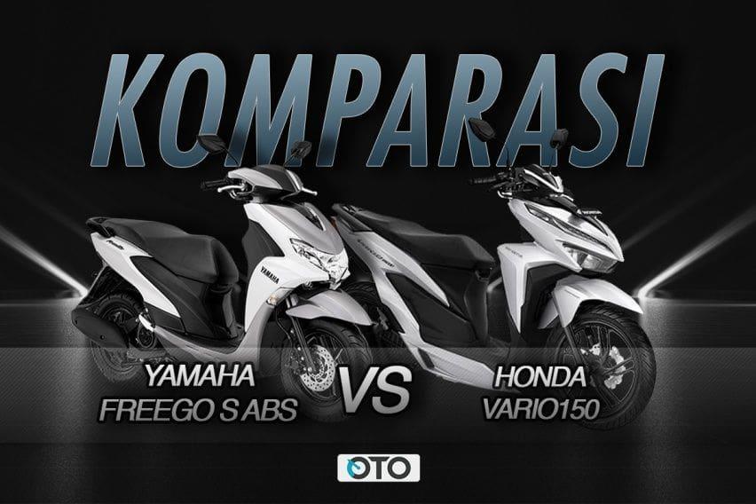 Komparasi Honda Vario 150 vs Yamaha FreeGo S ABS