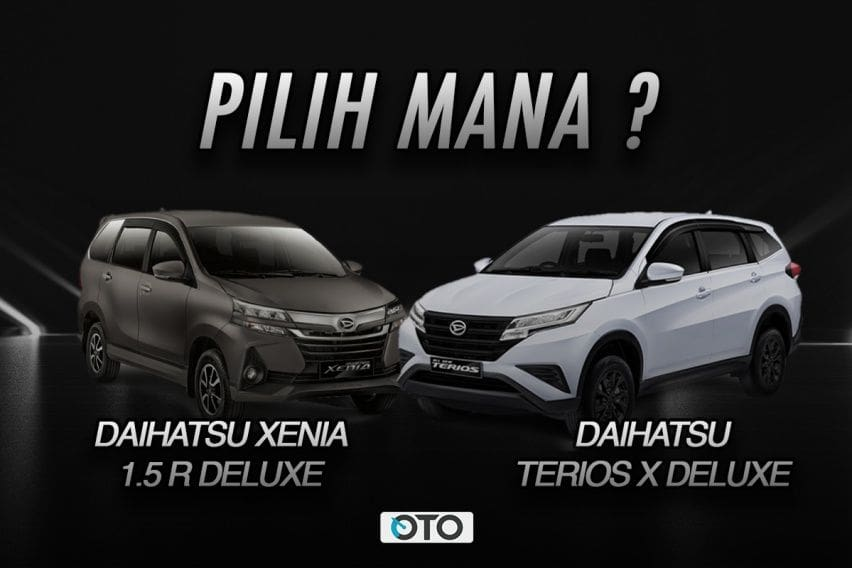 Pilih Daihatsu Xenia 1.5 R Deluxe atau Terios X Deluxe?