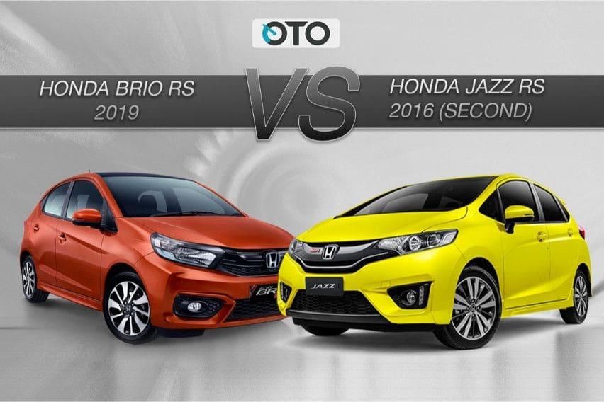 Buat Perkotaan, Pilih Honda Brio RS Baru atau Jazz RS Bekas?