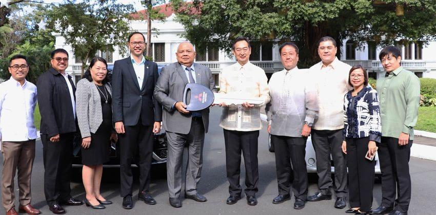 DENR & MMPC Officials