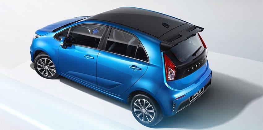 Proton Iriz facelift top-view