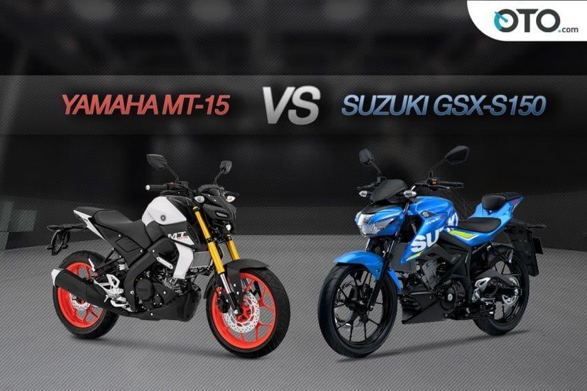 Suzuki GSX-S150 Keyless vs Yamaha MT-15, Mana Lebih Layak Dipilih?