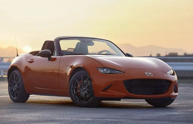 Mazda MX-5 30th Anniversary Edition makes official debut