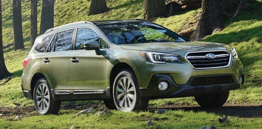 all-new Outback exterior