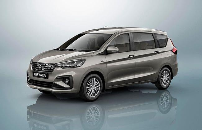 Next-gen Suzuki Ertiga makes its way to Thailand