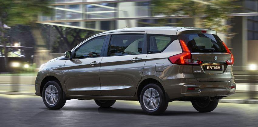 2019 Suzuki Ertiga Rear Angular