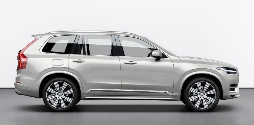 2020 Volvo XC90 side profile