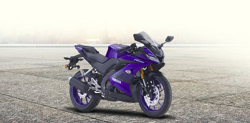 Yamaha YZF-R15 Front Angular