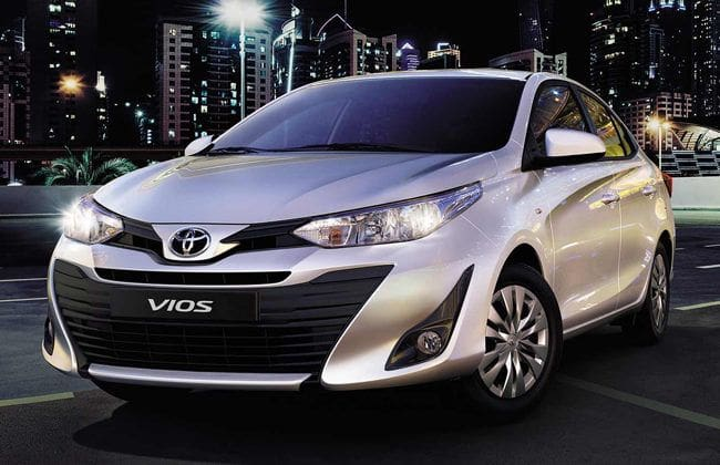 Toyota Vios loves the CVT, features in XE and four more variants