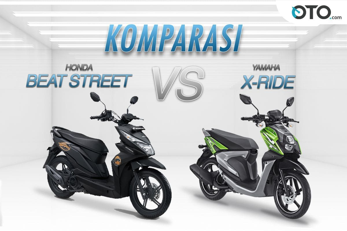 Honda Beat Street vs Yamaha X-Ride, Mana Yang Lebih Keren?