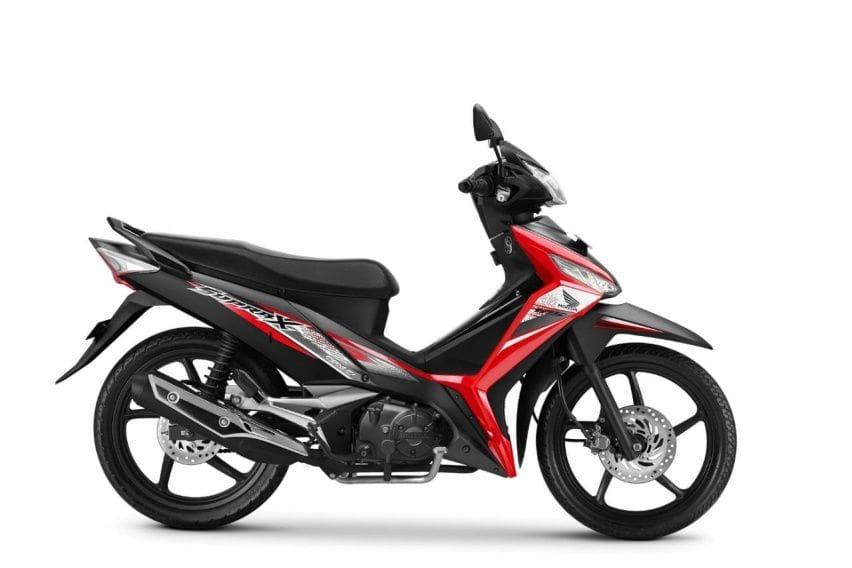 Honda Supra X 125 FI Disegarkan dengan Grafis Baru