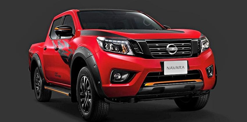 Nissan Navara Black Edition 2 Front Angular
