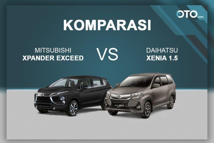 Komparasi Daihatsu Xenia 1.5 vs Mitsubishi Xpander Exceed
