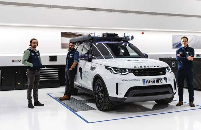 Meet the special Land Rover Discovery that'll help fight Malaria