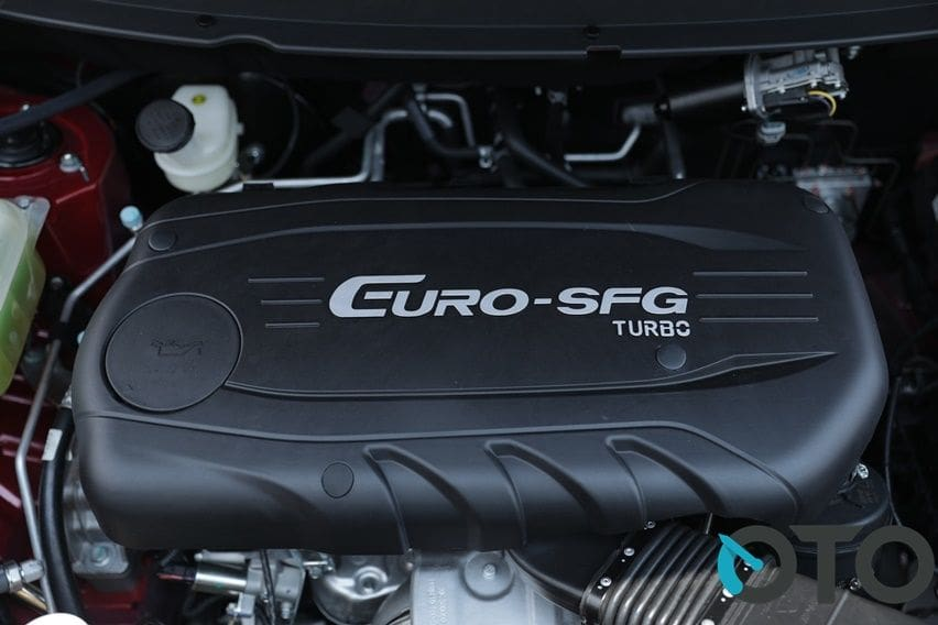 Mesin 1,5 liter turbo Glory 560