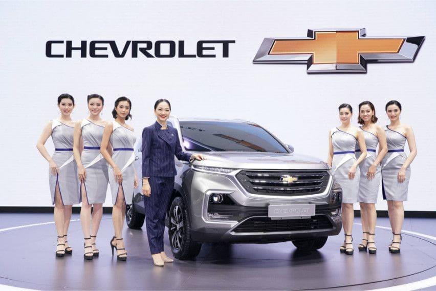Chevrolet Captiva di Thailand berbasis Wuling Almaz