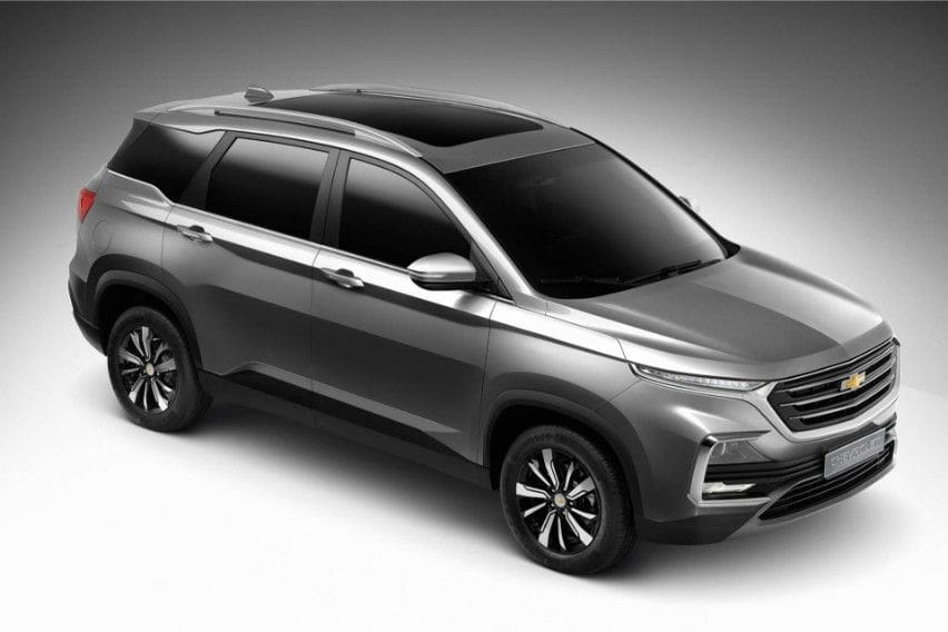 New Chevrolet Captiva di Thailand Bikinan Wuling Indonesia