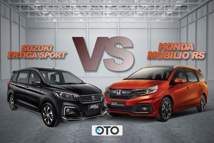 Ertiga Suzuki Sport vs Honda Mobilio RS, Siapa Paling Sporty?