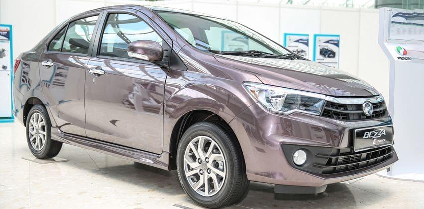 Perodua Bezza sie profile