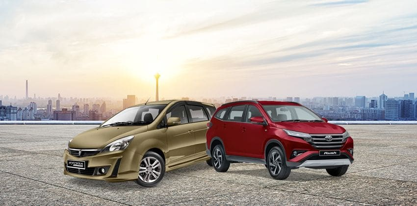 Proton Exora vs. Toyota Rush - Whch one?