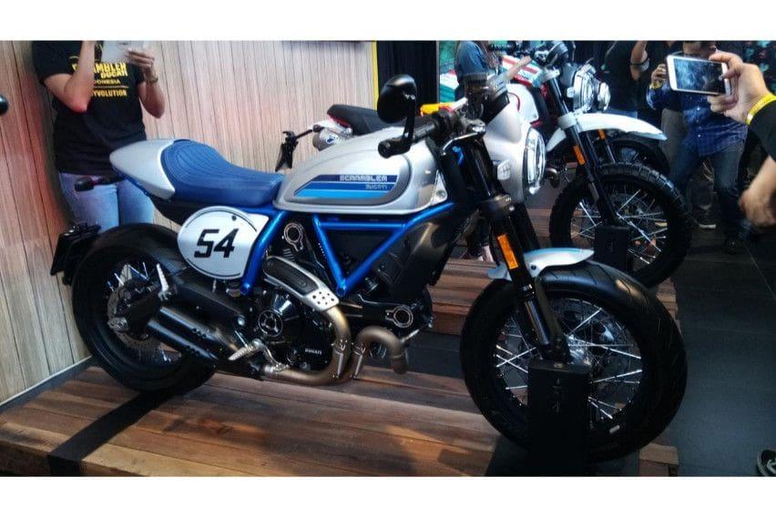Perusahaan Baru Ducati Indonesia Luncurkan Empat Varian Scrambler