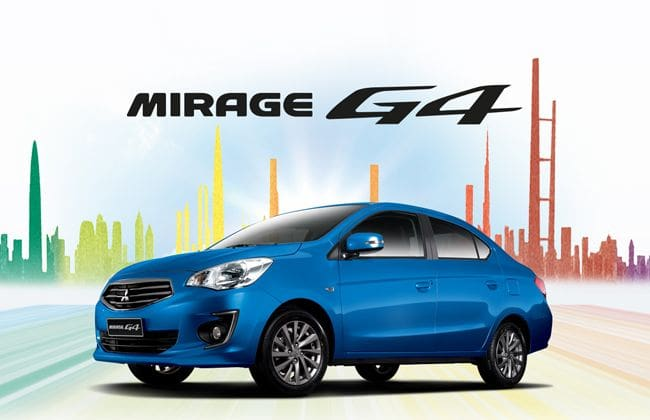 Mirage G4 is the 1 millionth Mitsubishi car in the Philippines