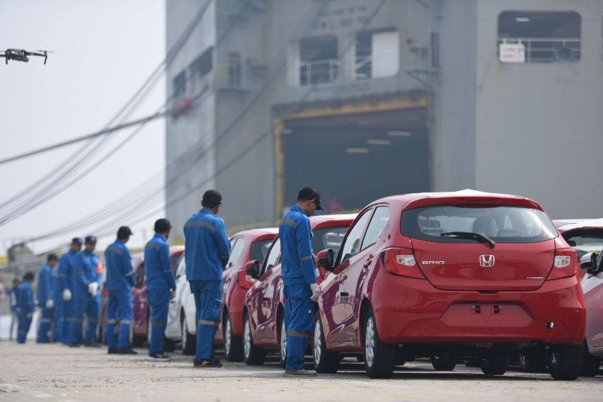 Ekspor Honda Brio