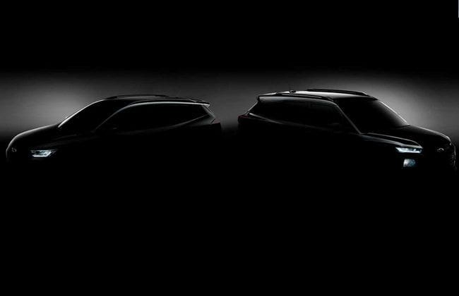 Chevrolet teases a shadowy image of new Trailblazer and Tracker