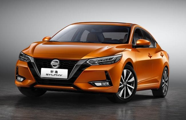 2020 Nissan Sylphy breaks cover in China