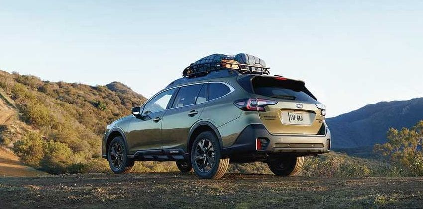 2020 Outback rear