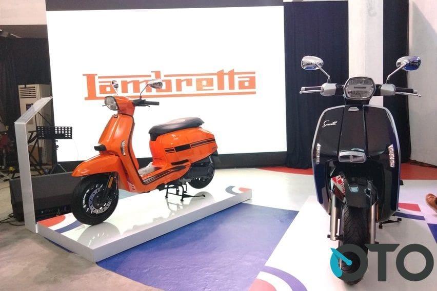 IIMS 2019: Ini Perbedaan Lambretta V125 Special dan V200 Special