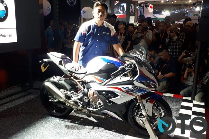IIMS 2019: Superbike BMW S 1000 RR Pukau Pengunjung Pameran