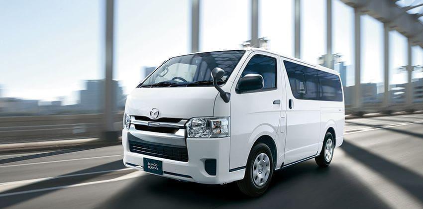Mazda is selling the last-gen Toyota Hiace in Japan as Bongo Brawny | Zigwheels