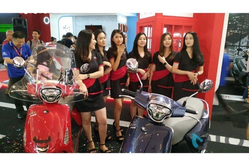 IIMS 2019: Promo Kymco Like150i, Cicilannya Mulai Rp 600 Ribu!