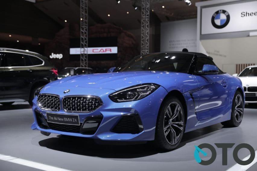 IIMS 2019: Ini Detil Spesifikasi BMW Z4 Terbaru
