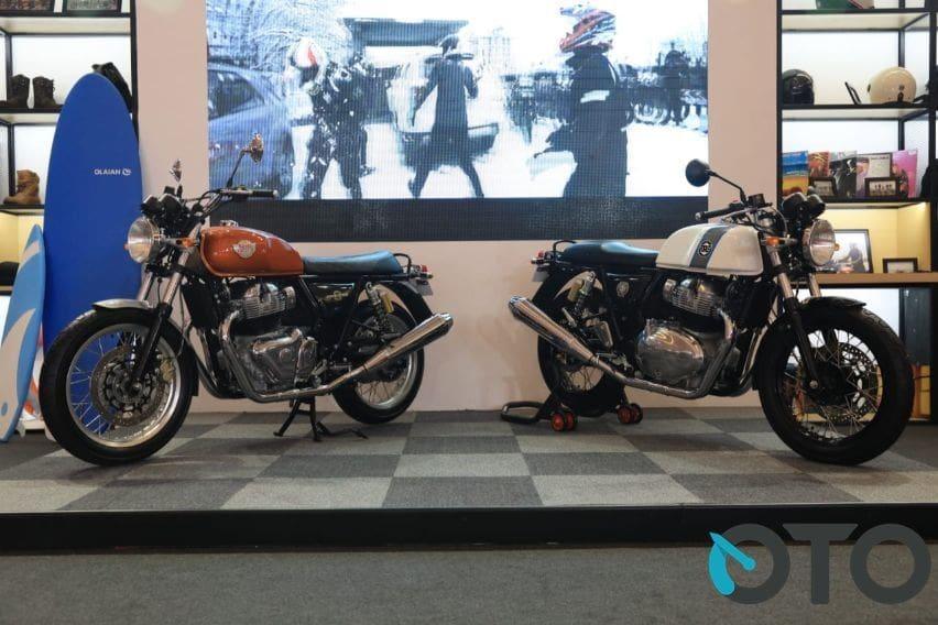 Dua motor baru Royal Enfield