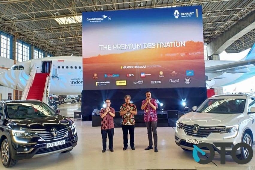 Maxindo Renault Indonesia Perkenalkan Koleos Versi Mereka