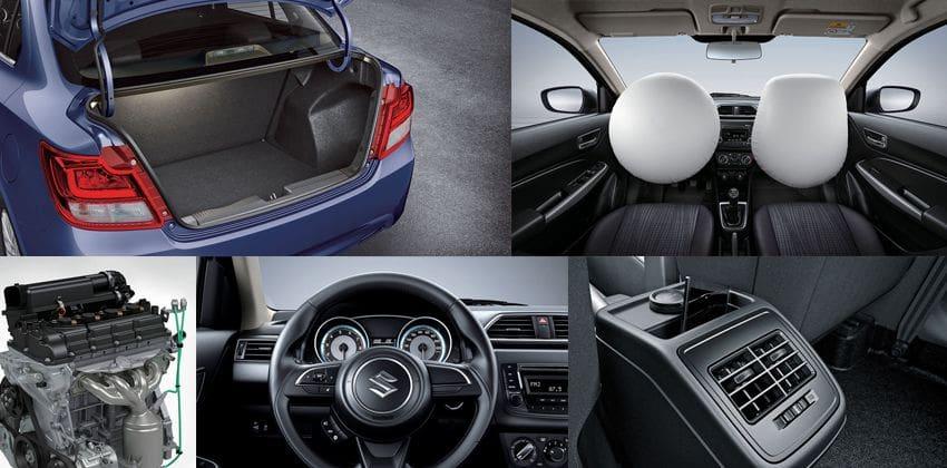 Suzuki Dzire Features