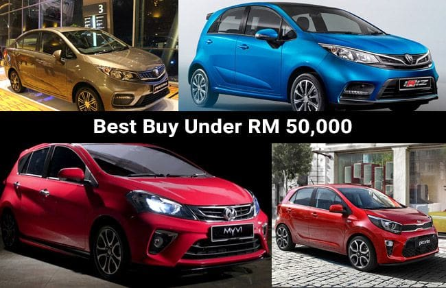 Top domestic cars to buy under RM 50,000