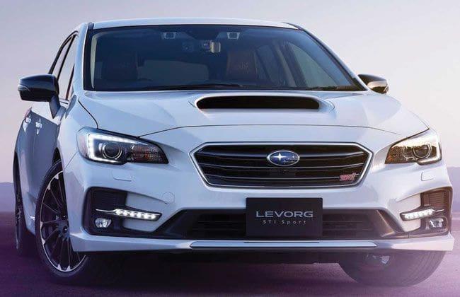 2020 Subaru Levorg STI Sport Black is a station wagon with a flair