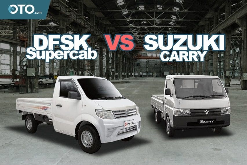 Perang Pikap, New Suzuki Carry vs DFSK SuperCab